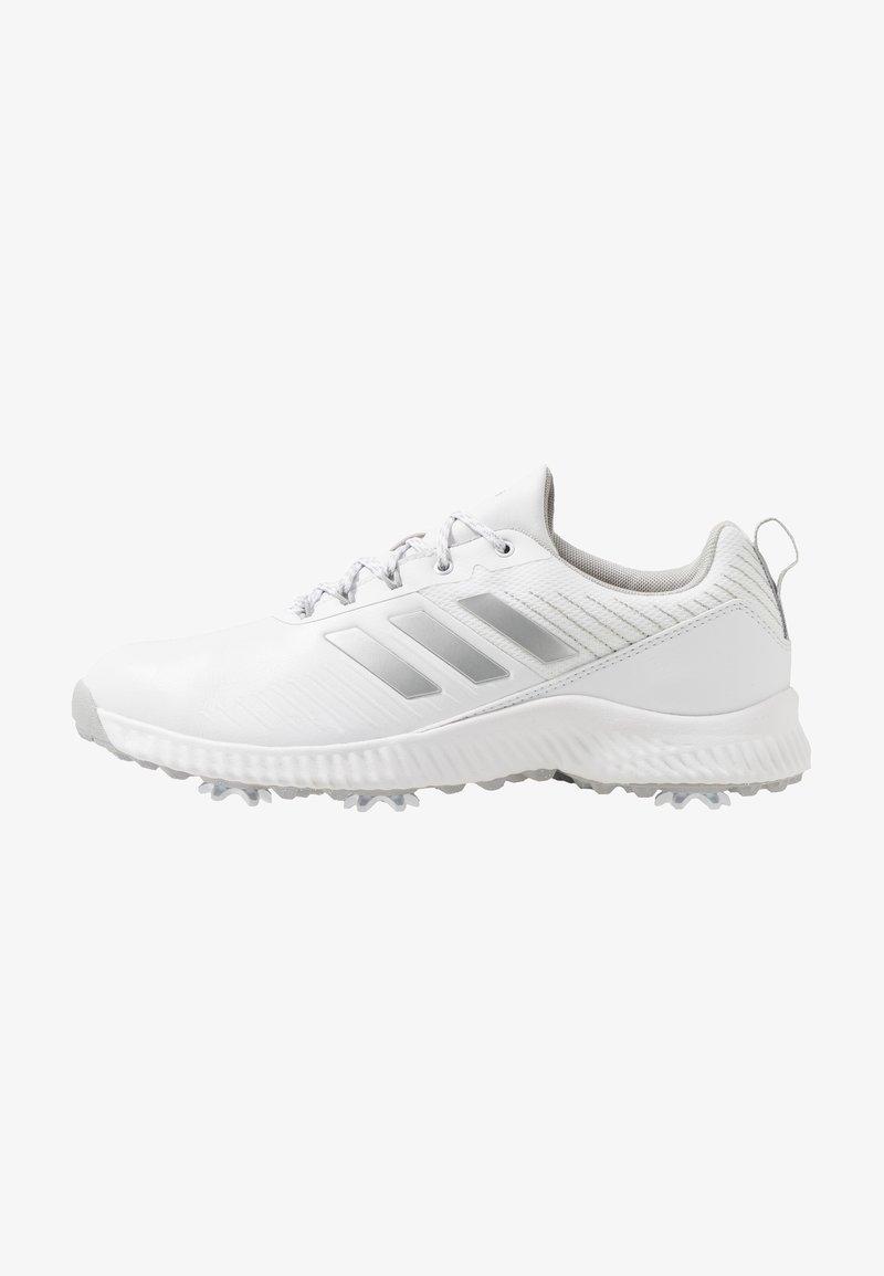 adidas Golf - RESPONSE BOUNCE 2 - Golfové boty - footwear white/silver metallic/grey two