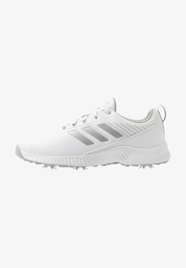 RESPONSE BOUNCE 2 - Golfové boty - footwear white/silver metallic/grey two
