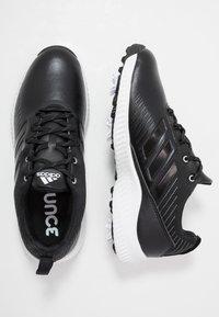 adidas Golf - RESPONSE BOUNCE 2 - Golfové boty - core black/footwear white/silver metallic - 1