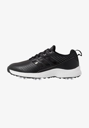 RESPONSE BOUNCE 2 - Golfsko - core black/footwear white/silver metallic