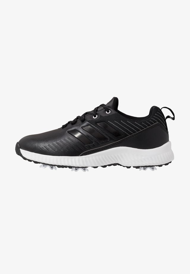 RESPONSE BOUNCE 2 - Golf shoes - core black/footwear white/silver metallic