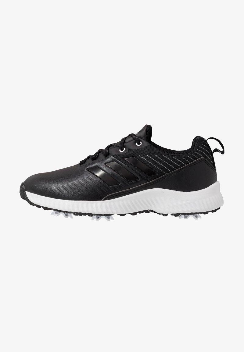adidas Golf - RESPONSE BOUNCE 2 - Golfové boty - core black/footwear white/silver metallic