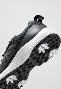 adidas Golf - RESPONSE BOUNCE 2 - Golfové boty - core black/footwear white/silver metallic - 5