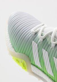 adidas Golf - CODECHAOS - Golfové boty - footwear white/signal green - 5