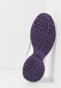 adidas Golf - RESPONSE BOUNCE 2 SL - Golfové boty - footwear white/purple tint/grey two - 4