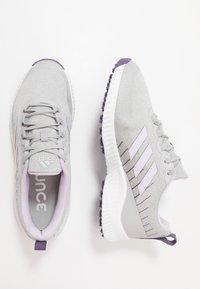 adidas Golf - RESPONSE BOUNCE 2 SL - Golfové boty - footwear white/purple tint/grey two - 1