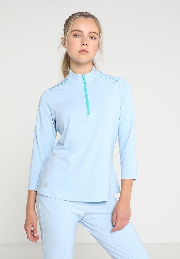 adidas Golf - QUARTER SLEEVE ZIP  - Sportshirt - vision blue