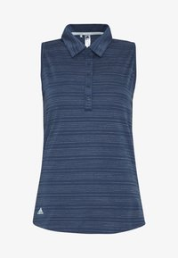 adidas Golf - MICRODOT SLEEVELESS - Polo shirt - tech indigo/indigo - 4