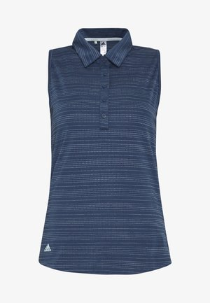 MICRODOT SLEEVELESS - Polo shirt - tech indigo/indigo