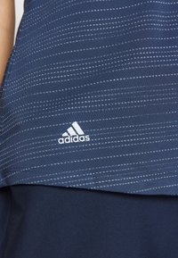 adidas Golf - MICRODOT SLEEVELESS - Polo shirt - tech indigo/indigo - 5