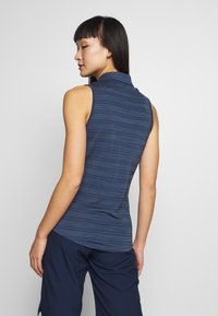 adidas Golf - MICRODOT SLEEVELESS - Polo shirt - tech indigo/indigo - 2