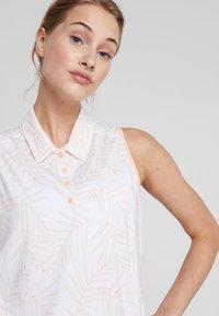 adidas Golf - ULTIMATE STRIPE SLEEVELESS  - Camiseta de deporte - white/glow pink - 3