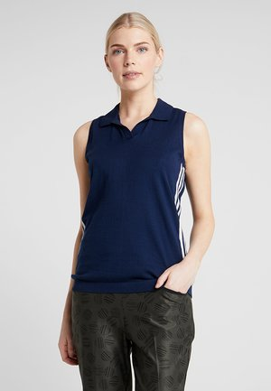 SLEEVELESS - Stickad tröja - night indigo