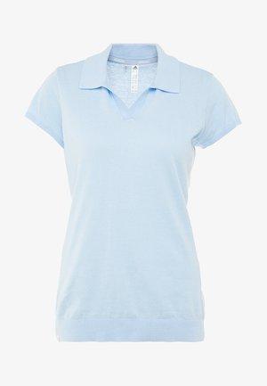 SHORT SLEEVE - Polo - glow blue