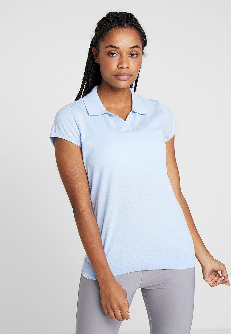 adidas Golf - SHORT SLEEVE - Poloshirts - glow blue