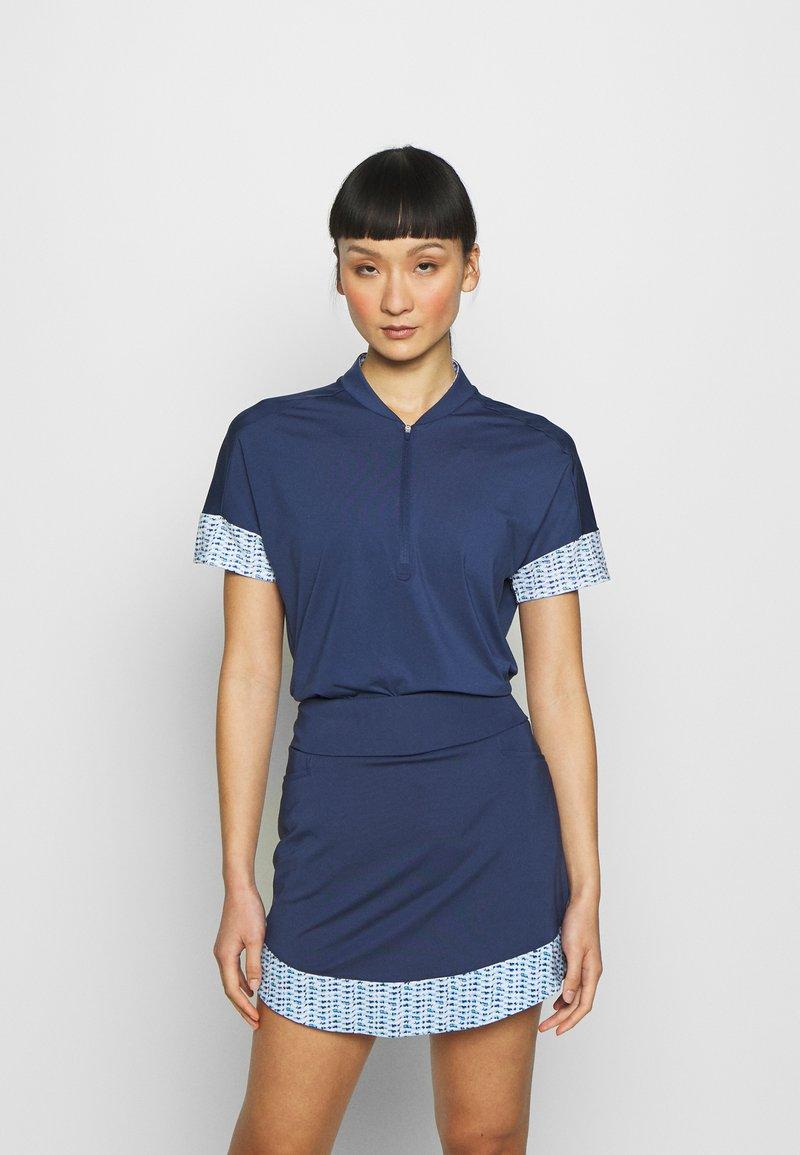 adidas Golf - T-shirts med print - tech indigo