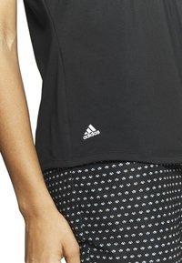 adidas Golf - T-shirt print - black - 5