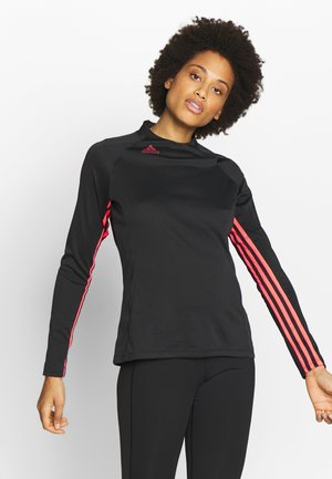 MOCK - Long sleeved top - black