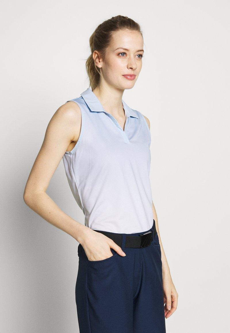 adidas Golf - PRIMEBLUE - Polotričko - easy blue