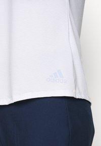 adidas Golf - PRIMEBLUE - Polotričko - easy blue - 4