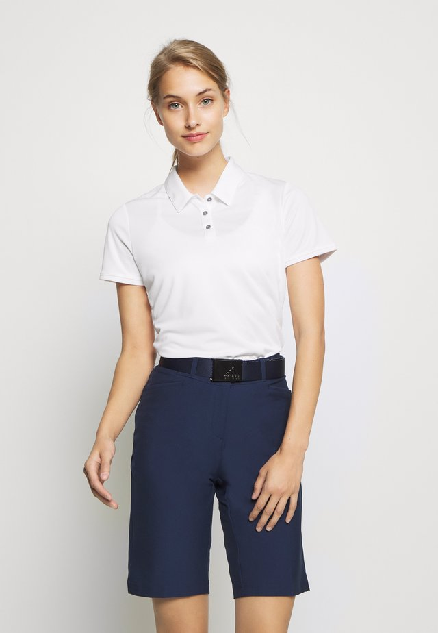 PERFORMANCE SHORT SLEEVE - Koszulka polo - white