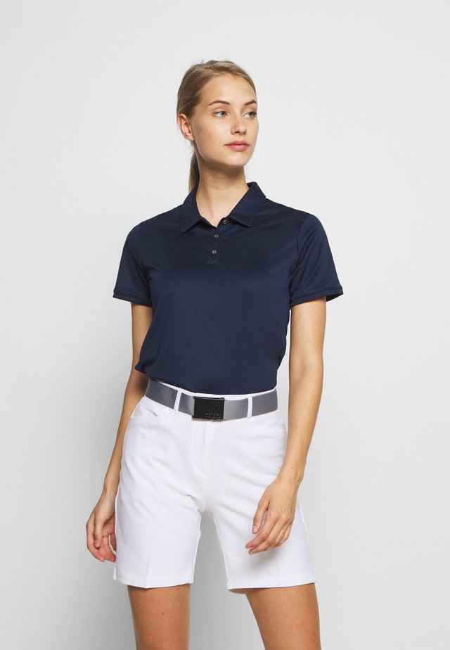 PERFORMANCE SHORT SLEEVE - Koszulka polo - collegiate navy