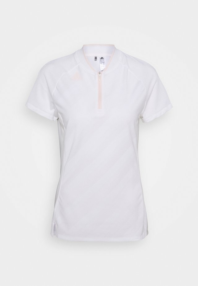 PERFORMANCE SPORTS GOLF SHORT SLEEVE - Poloshirts - white