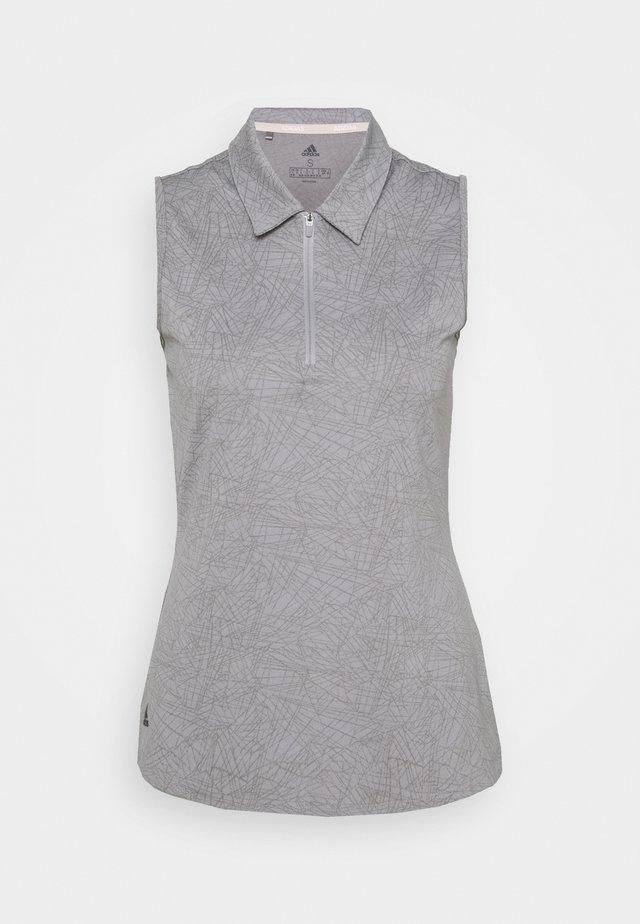 PERFORMANCE SPORTS GOLF SLEEVELESS - Polo shirt - glory grey