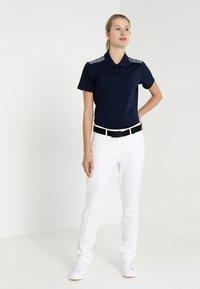 adidas Golf - ULTIMATE CLUB FULL LENGTH PANTS - Spodnie materiałowe - white - 1