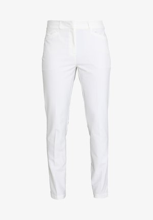 ULTIMATE CLUB FULL LENGTH PANTS - Stoffhose - white