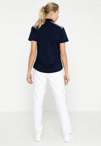 adidas Golf - ULTIMATE CLUB FULL LENGTH PANTS - Spodnie materiałowe - white - 2