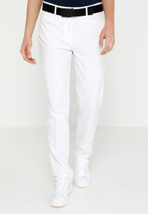 ULTIMATE CLUB FULL LENGTH PANTS - Kangashousut - white