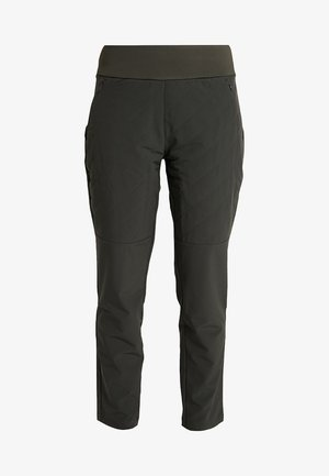 QUILTED PANT - Broek - legend earth