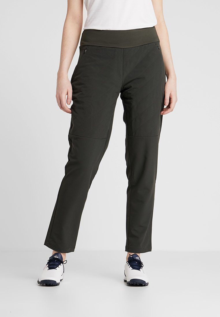 adidas Golf - QUILTED PANT - Bukse - legend earth