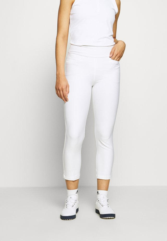 PULLON ANKLE PANT - Stoffhose - white