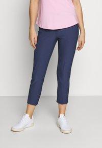 adidas Golf - PULLON ANKLE PANT - Kalhoty - tech indigo - 0