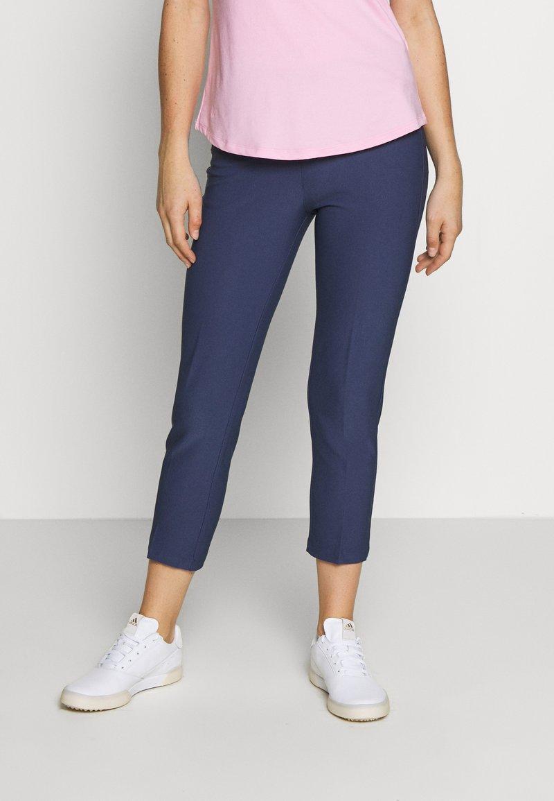 adidas Golf - PULLON ANKLE PANT - Kalhoty - tech indigo