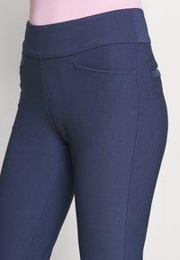 adidas Golf - PULLON ANKLE PANT - Kalhoty - tech indigo - 4