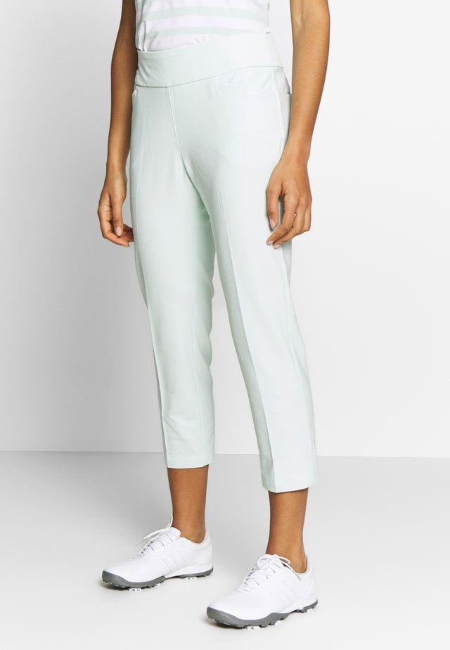 PULLON ANKLE PANT - Spodnie materiałowe - dash green