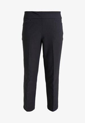 PULLON ANKLE PANT - Pantalones - black