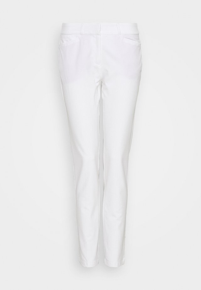 PANT - Stoffhose - white