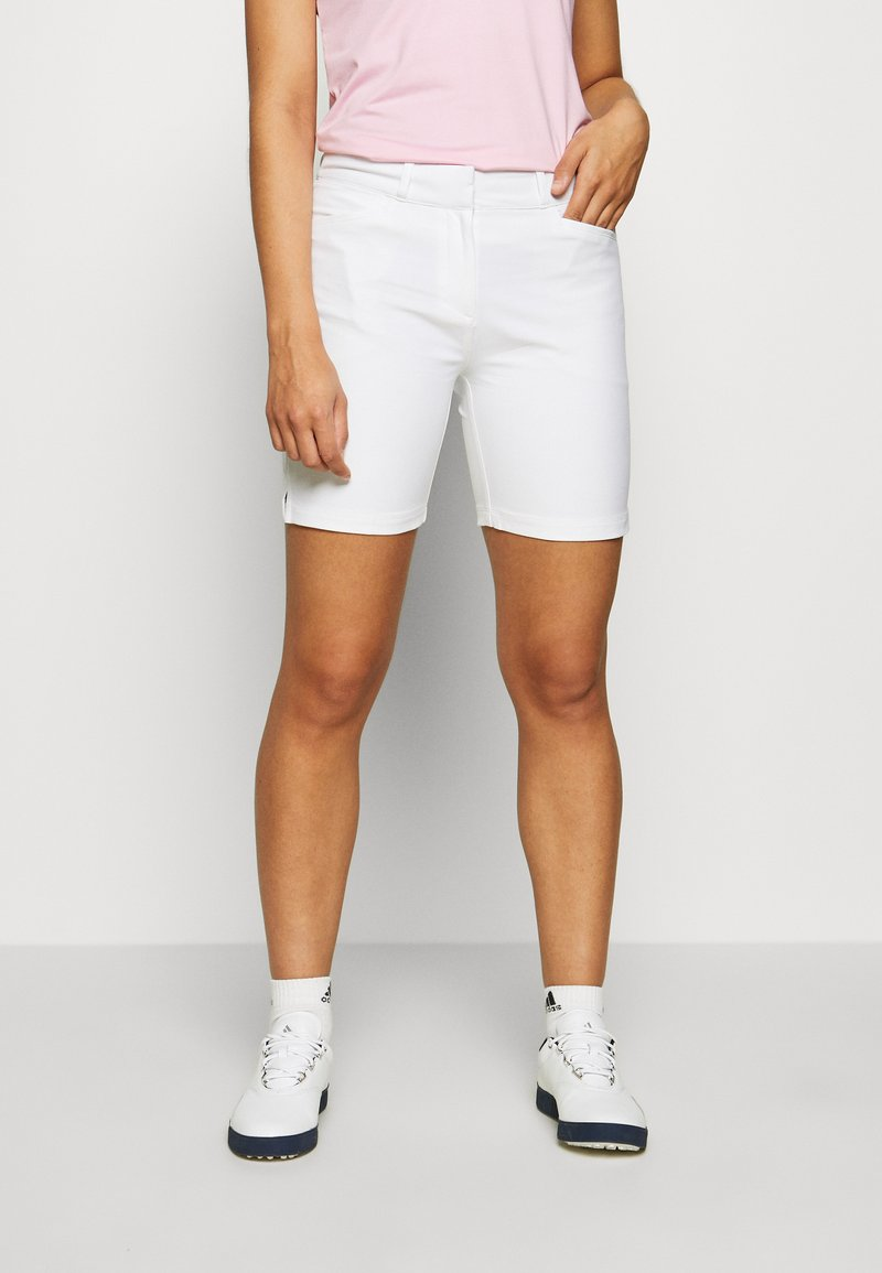 adidas Golf - Sportovní kraťasy - white