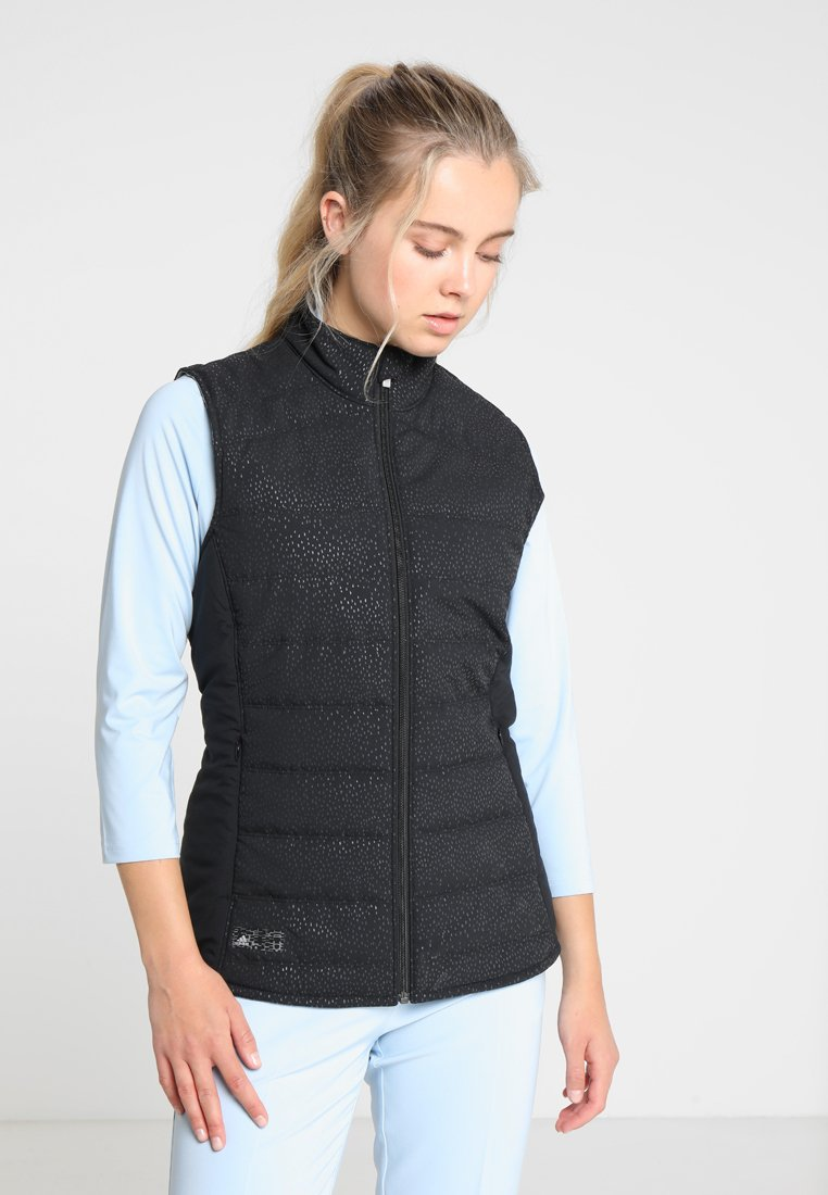 adidas Golf - REVERSIBLE QUILTED VEST - Bodywarmer - black