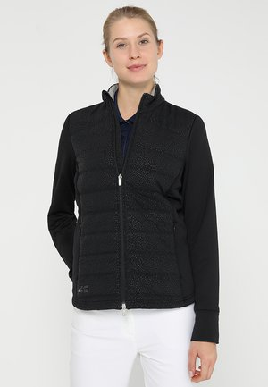 QUILTED JACKET - Chaqueta outdoor - black