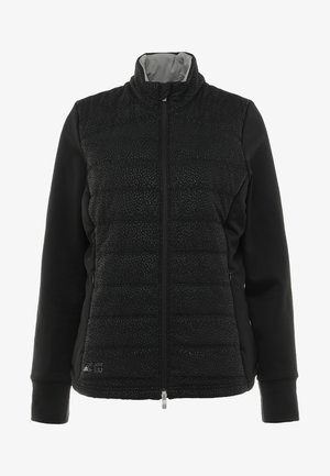 QUILTED JACKET - Outdoor jacket - black