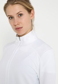 adidas Golf - ESSENTIALS  - Bluza rozpinana - white - 3