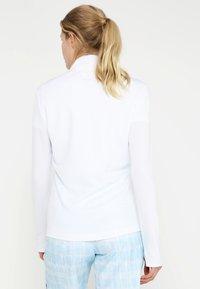 adidas Golf - ESSENTIALS  - Bluza rozpinana - white - 2
