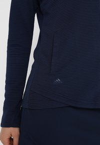 adidas Golf - ESSENTIALS  - Mikina na zip - dark blue - 5