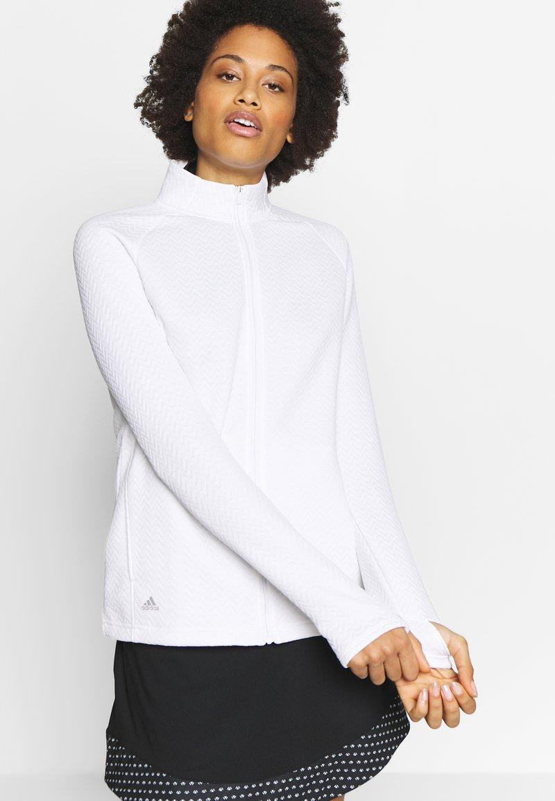 adidas Golf - Sportovní bunda - white