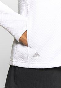 adidas Golf - Sportovní bunda - white - 5